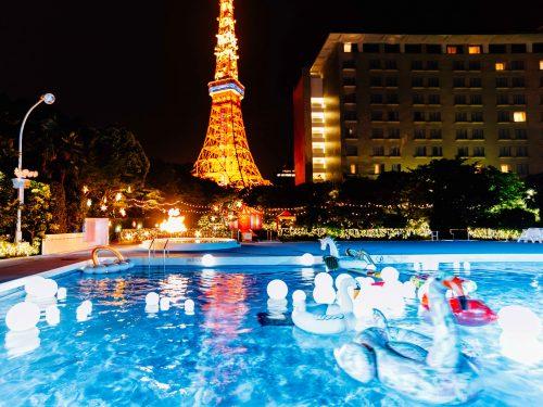 2017年 CanCam ナイトプール 東京プリンスホテル