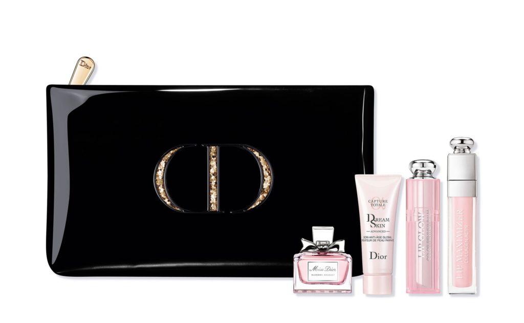 online store f147d e7667 Dior マキシマイザーやリボンのミニ香水瓶を詰めた限定ポーチ ...